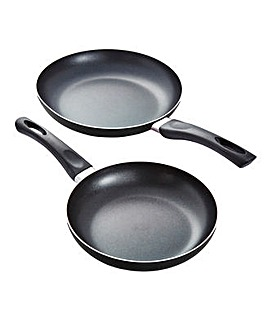 Aluminium Non-stick Frying Pan 2 Pack