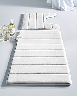 Microfibre Memory Foam Bathmat