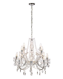 Marie Therese 12 Light Chandelier