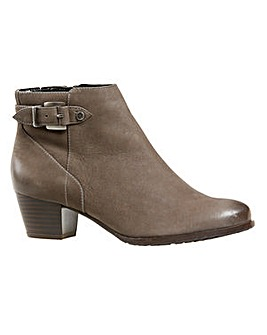 Van Dal Porter Ankle Boots Wide E Fit