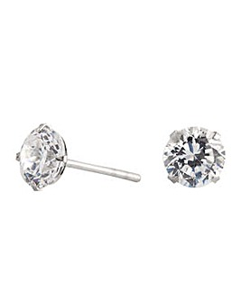 Simply Silver stud earring