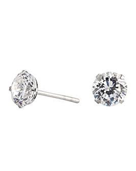 Simply Silver stud earring