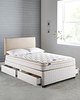 Silentnight Ella Divan with 4 Drawers