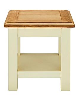 Taunton Oak and Oak Veneer Side Table