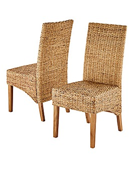 Bali Pair of Dining Chairs