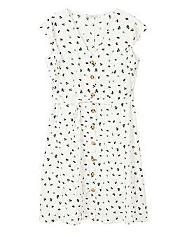 Violeta By Mango Button Through Dress