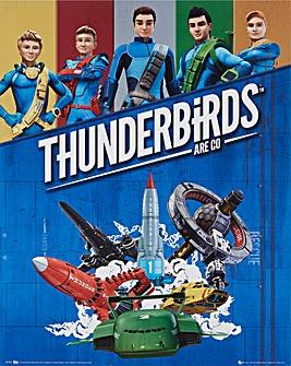 Thunderbirds Poster Board Wall Art