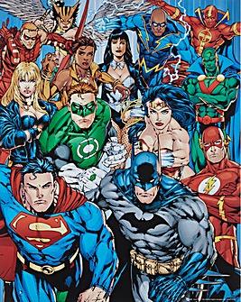 Superheros Poster Board Wall Art