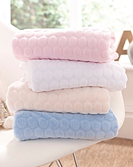 Marshmallow Pram Blanket
