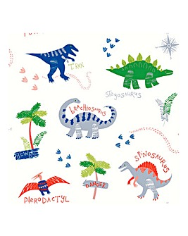 Dino Doodles Multi Wallpaper