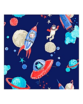 Starship Blue Wallpaper