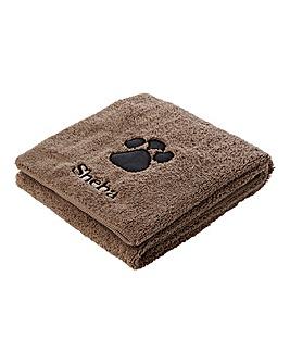 Personalised Super Absorbent Pet Towel