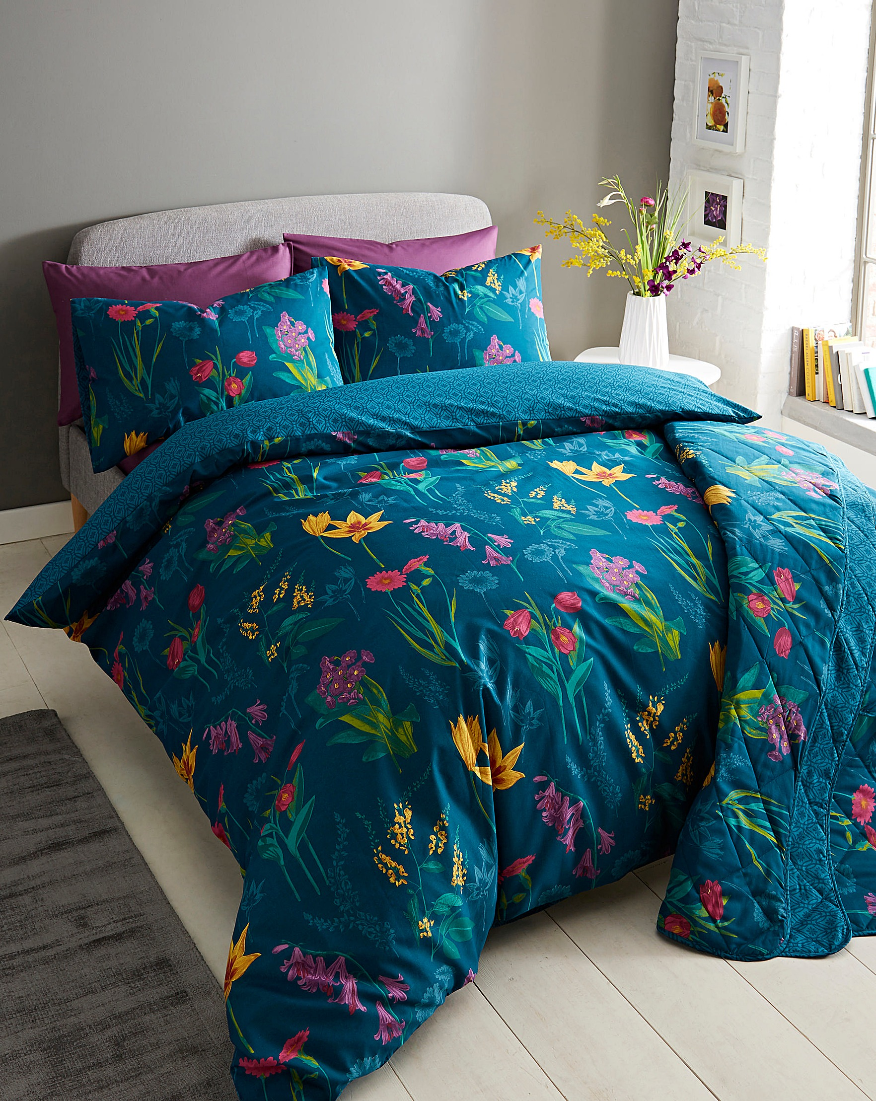 double covers cover set teal duvet bed green