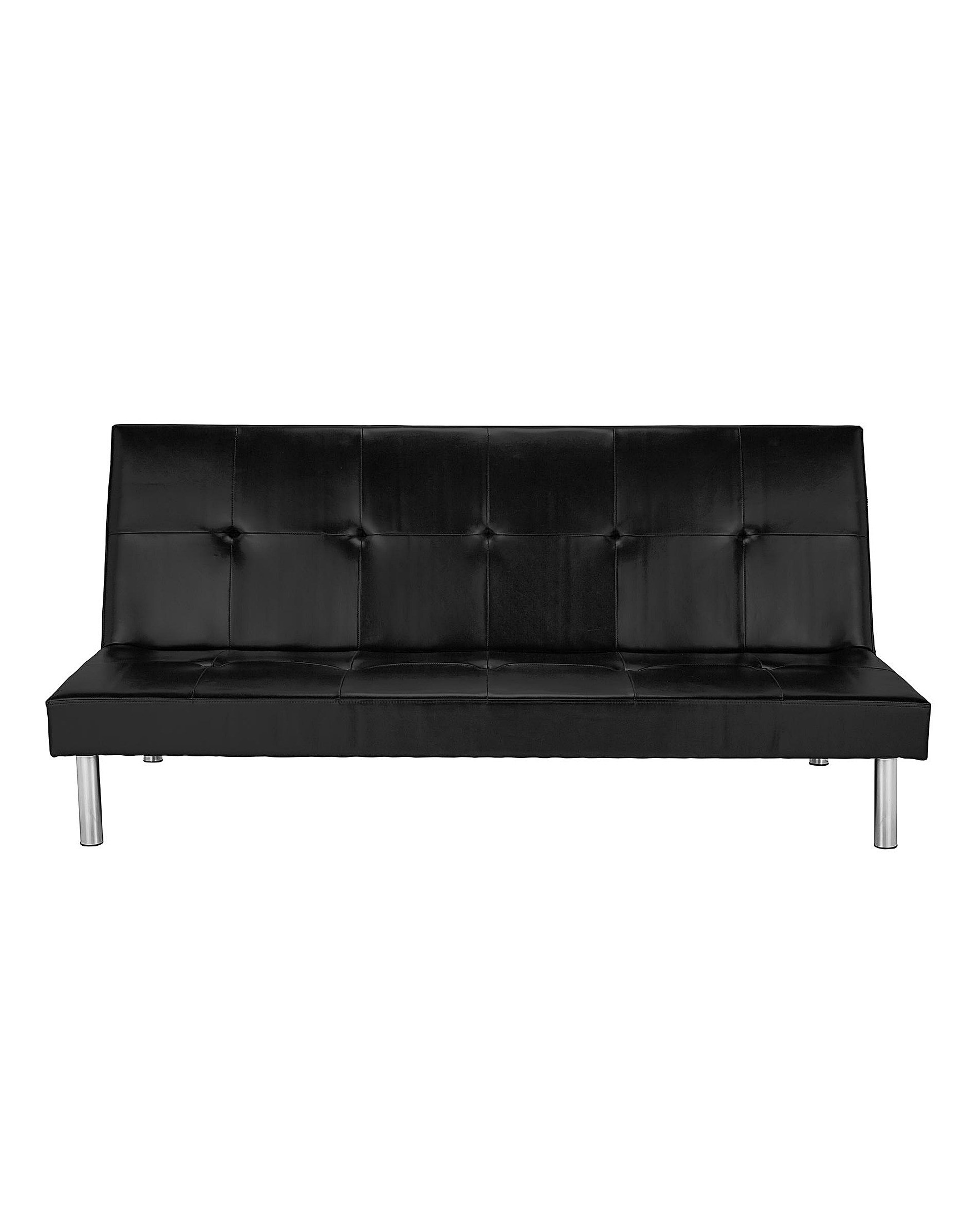 Bailey Faux Leather Clack Sofabed