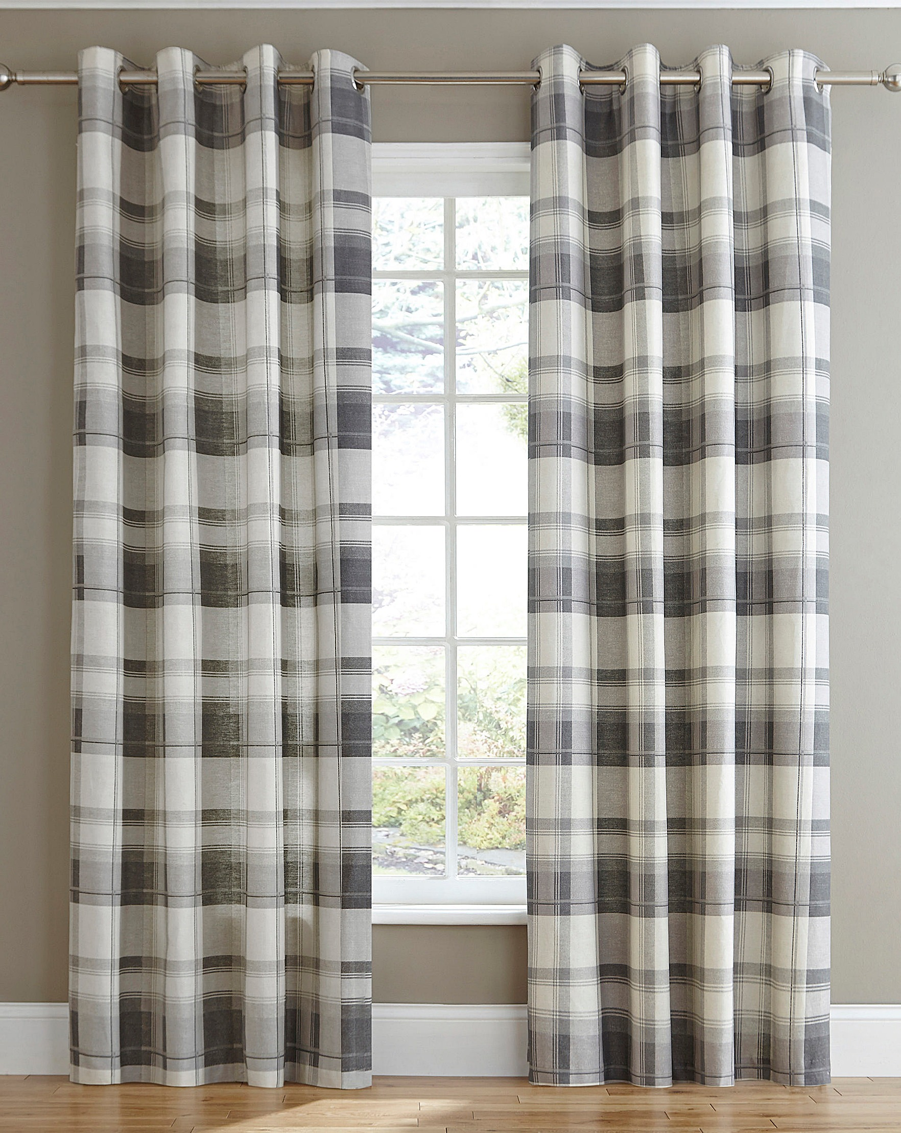 monaco in top eyelet sundour duck egg striped lined green ready charcoal and curtains made by ring product eylet