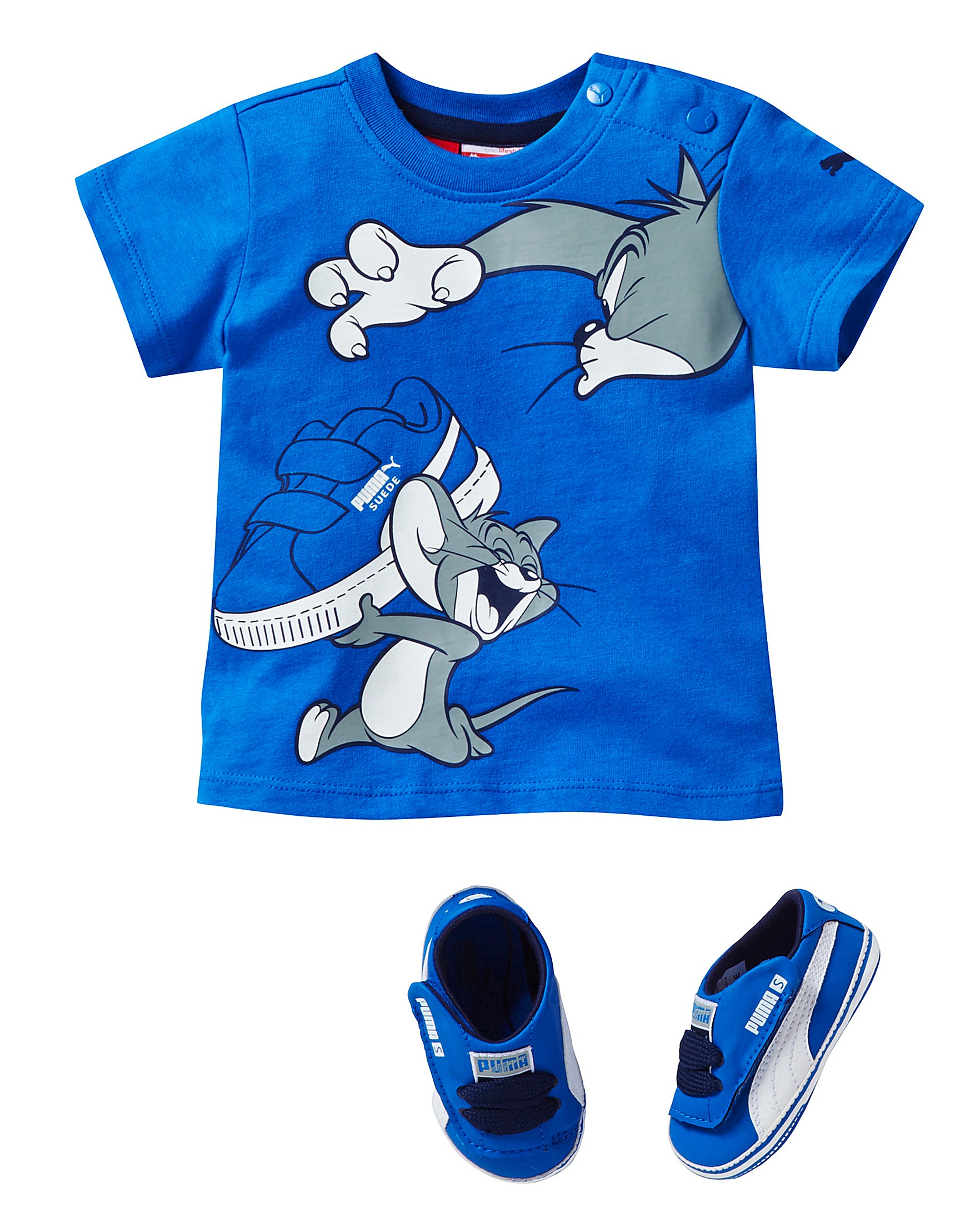 Puma Baby Boys Tom & Jerry Crib Set
