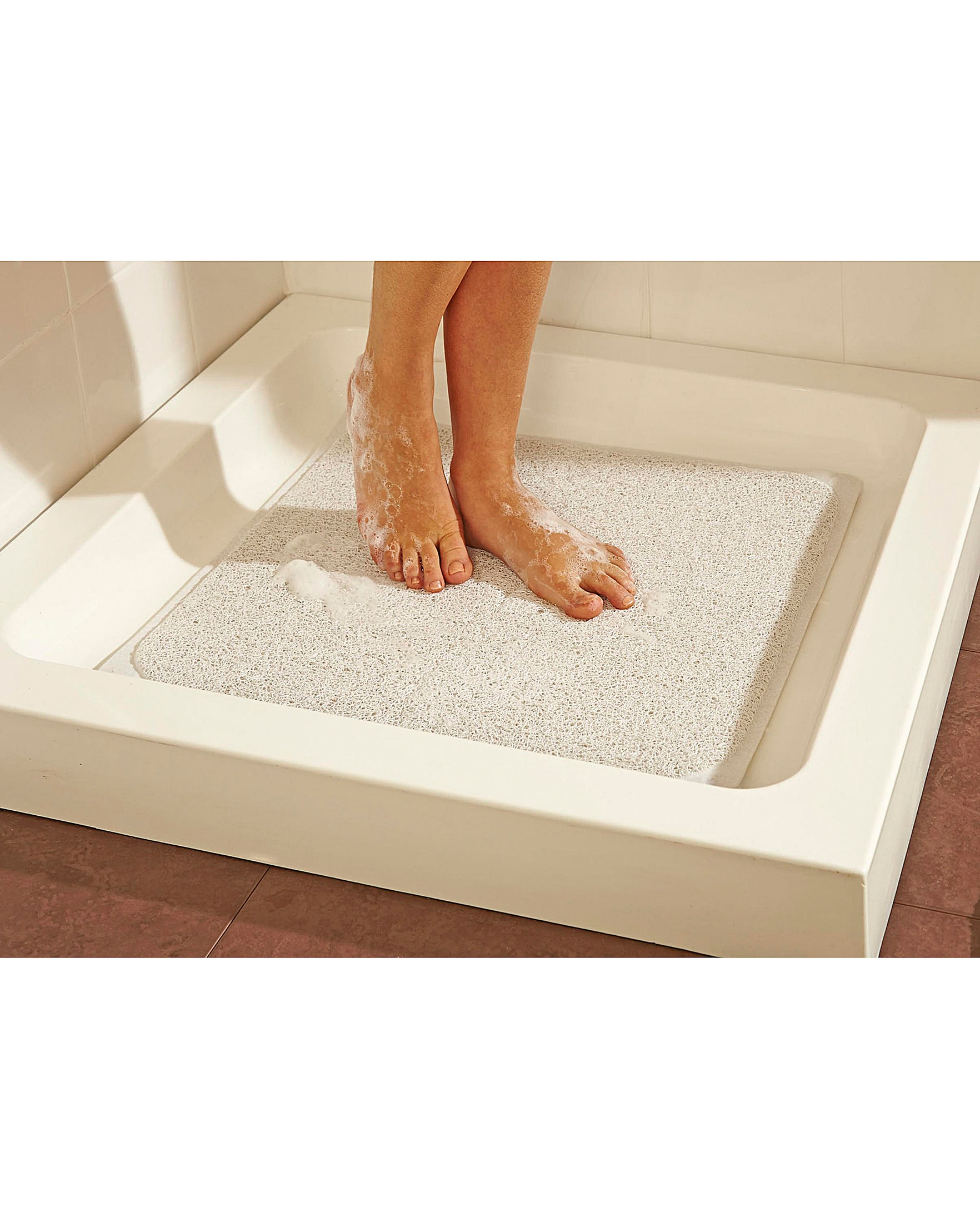 img slip products large curved mat non cazsplash shower microfibre