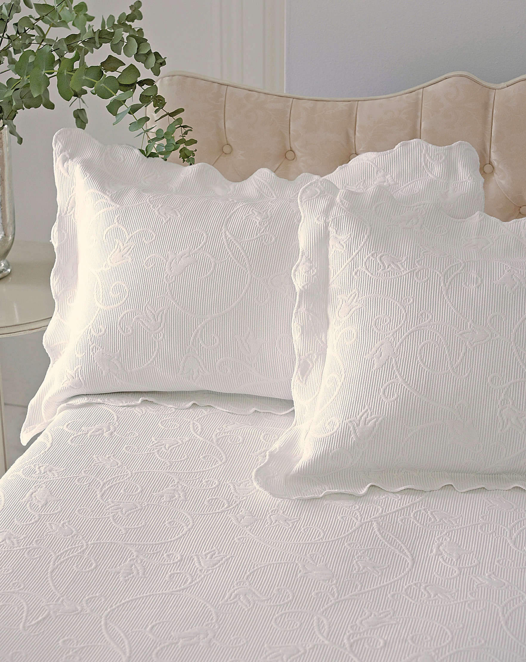 bed cone brooklyn bath reviews wayfair pdx collection coverlet pine bedding hill matelasse