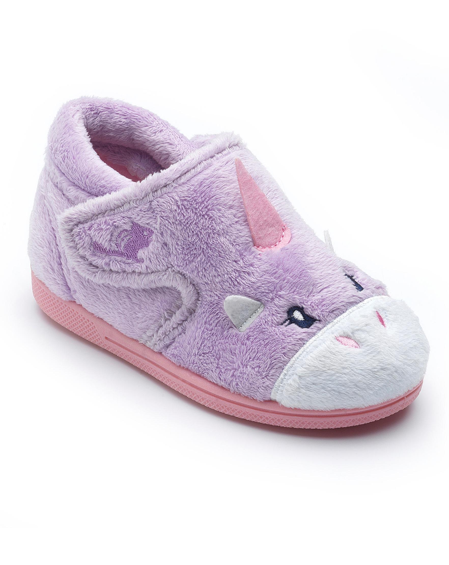 Chipmunks Unicorn Slippers
