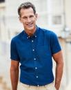 Premier Man Navy Soft Touch Shirt R