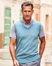 Premier Man Mint Mock Shirt Slipover R